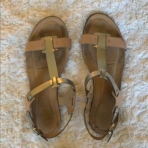 Tod's Leather Sandals size 38.5 used condition